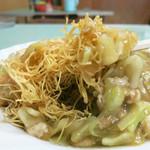 玉八 - パリパリ極細麺に銀餡と要素は皿うどんなのだが……