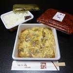 犀与亭 - お弁当(中:単品990円、ごはん付は1150円)