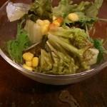 フリーバード - ランチのサラダ