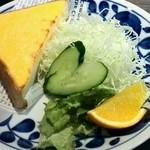 食堂カフェ COCO家 - ウエスタントースト サラダ +300円 トーストの中にたまごが入ってるよ、美味しいです。(*^O^*)