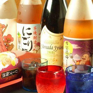 その月の旬のお酒をご用意!!