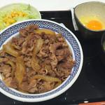 吉野家 - 牛丼カシラ大盛り。