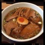 中華そば 和輝 - チャーシュー麺 900円