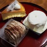 三寿園 - リニューアル後は洋菓子の比率が高い