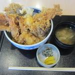 和食天ぷら さくさく - さくさく天丼@1000円(税込み)