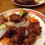 京華園 - 酢豚