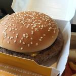 マクドナルド - クォータパンダー・チーズ