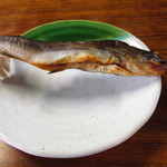 へいけ茶屋 - 岩魚の塩焼き