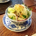 ロータス オブ ハノイ - ヌクチャムドレッシングサラダ