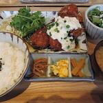 kawara CAFE&DINING -FORWARD- - ヒレカツ南蛮定食1180円2015年5月19日kawara CAFE&DINING -FORWARD- 横浜みなとみらい