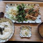 kawara CAFE&DINING -FORWARD- - kawara定食1000円2015年5月19日kawara CAFE&DINING -FORWARD- 横浜みなとみらい