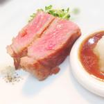 La Bonne table A・La・Carte - 和牛のサーロインステーキ