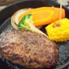 ノース プレイン ファーム緑園 - 料理写真:塩・胡椒 ハンバーグ 1080円