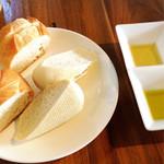 JAM ORCHESTRA - パンとオリーブオイル&ヘーゼルナッツオイル