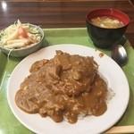 好養軒 - メンチカレー定食690円