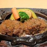 炭焼きレストランさわやか 静岡瀬名川店 - げんこつハンバーグ 250g