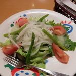 炭焼きレストランさわやか 静岡瀬名川店 - 農園サラダ