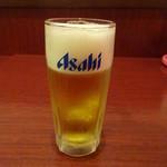 ユイツ - 生ビール:380円税別