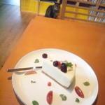 猫町文庫 - レアチーズケーキ(と、しまさん) 2015年10月