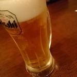 タパス&タパス - アサヒスーパードライ