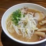 二朗麺 - 炙りチャーシュー麺小 600円