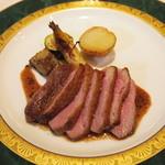 42940725 - 本日のお肉料理(カモ)