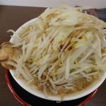麺屋 元 - 元ラーメン(820円)、野菜マシ、ニンニクなし