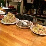 MARU - 惣菜各種、3種盛りの際はここから選択可能