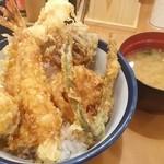 天丼てんや - 元祖オールスター天丼 720円