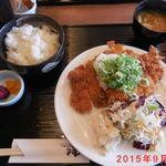 42946829 - 和風おろしチキンカツ定食 ¥500