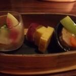 今泉小路 日和日 - お料理は3品。