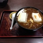 一休庵 - 通常は餅一個付き850円。僕は1個追加して950円で食べる。