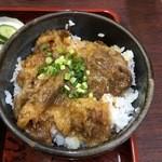 丸新 - ミニカルビ丼(850)