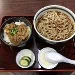 丸新 - ミニ生姜丼セット(850)