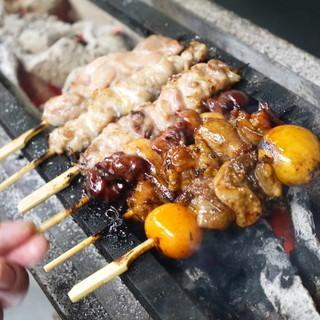 福島県産伊達鶏の希少部位