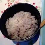 オルソ・デル・ボスコ森のくまさん - ご飯は雑穀米