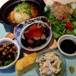オルソ・デル・ボスコ森のくまさん - ランチプレート 和食 (1100円)