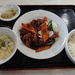 三国志 - 黒酢酢豚セット