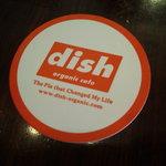 dish-tokyogastronomycafe - オリジナルコースター