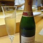 鮨 土方 - シャンパン