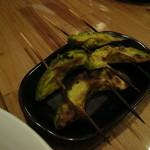 や~じぐゎ~ - アボカドの串焼き