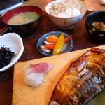 42966343 - 鯖の醤油漬け定食