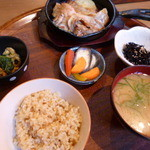 42966347 - みやじ豚の生姜焼き定食
