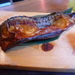 42966350 - メインの鯖の醤油干し