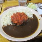 田中カレー - ハンバーグカレー