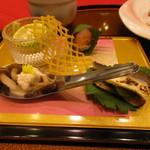 わたらせ温泉 ホテルささゆり - 料理写真:前菜
