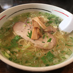 麺厨房あじさい - 2015/10/11味彩塩拉麵750円