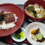 和の食彩 吉楽庵 - 鰻丼セット(麺は選べます)