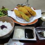和の食彩 吉楽庵 - 花セット1種『牡蠣フライ』