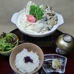 和の食彩 吉楽庵 - 花セット1種『牡蠣なべ』